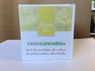 Swiss Cannabis Happy Tea (20 Pyramidenbeutel)